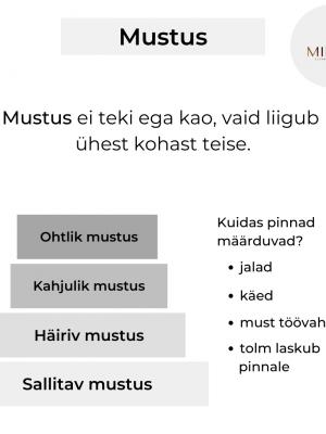 Mustus est